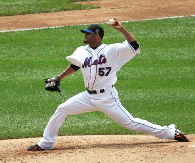 Baseball pitcher Johan Santana Mets - Photo by eviltomthai via Flickr-CC