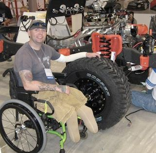Soldiers rehab with Automotivation-OperationComfort