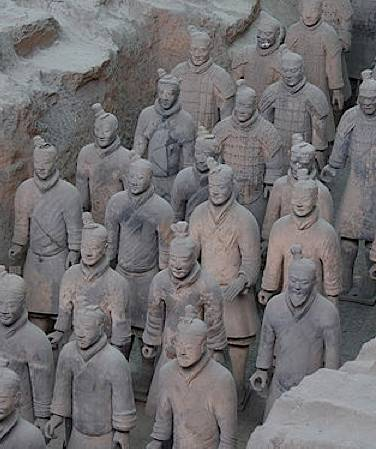 Terracotta Warriors unearthed in China -by Maros-CC