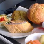 healthy meal on plane-Clarita-Morguefile
