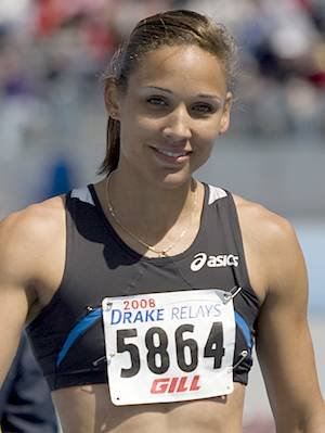 runner Lolo Jones KDSanders-CC