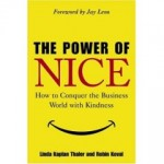 the Power of Nice book cover