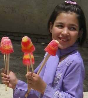 Afganistan ice cream- Photo via Natalia's Photoblog