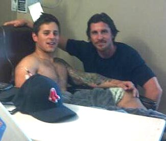 Christian Bale visits shooting victim Carey Rottman-CRphoto