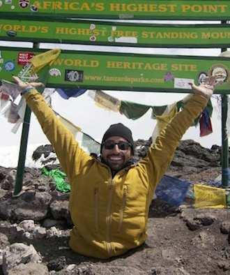 legless Climber on Kilamanjaro - Free the Children photo