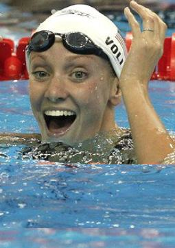swimmer Dana Vollmer wins in 2011