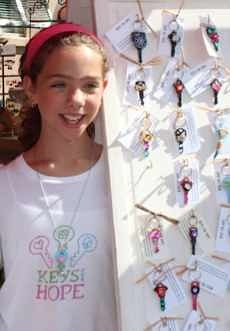 Keys for Hope founder, Clara Pilley