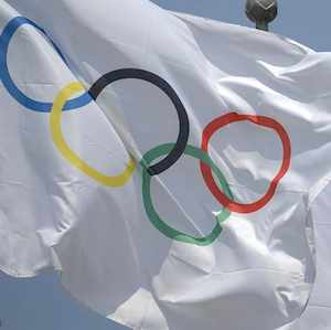 Olympic flag, photo by Anja johnson-CC