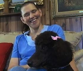 Poodle saves owner from gas leak