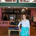 Threads for Teens founder, Allyson - FB photo