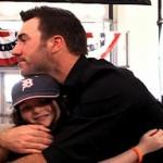 baseball fan kid w Justin Verlander-MLBvideo