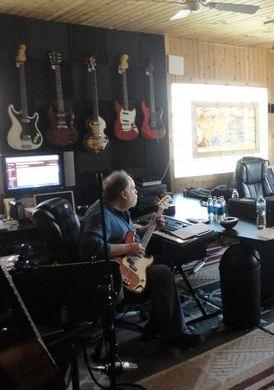 bass player Jonathan Lubner - Warrior Songs Inc.