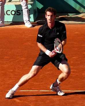 Andy Murray 2009 French Open- Yann Caradec