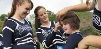 Cheerleading inclusively Wethersfield HS - Sparkle Effect photo