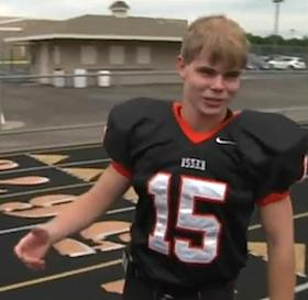 Football captain starts Kindness trend - KARE-TV Video snapshot