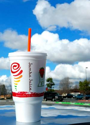 Jamba Juice cup-el finco-Flickr-cc