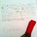 Letter for Failed Olympian
