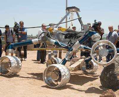 NASA Rover model Scarecrow-NASA