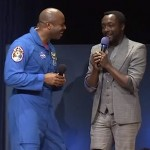 Will.i.am with NASA astronaut