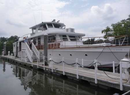 Yacht Finished Business