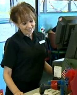 cashier video KCRA
