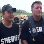 father-son team rescues 60 from flooding