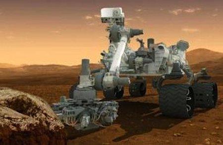 Mars Rover Curiosity NASA