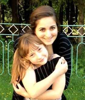student Nicole Minkina returns to Belarus