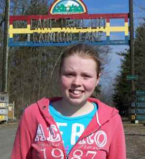 swimmer Annaleise Carr Camp Trillium