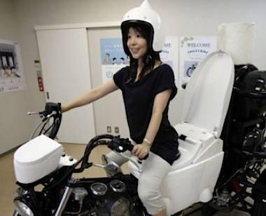 toilet motorbike TOTO