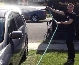 washing a car Reddt Reventure