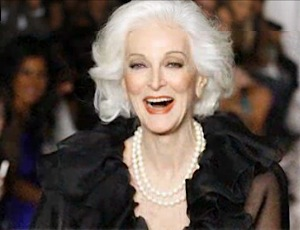 81-yo model Carmen Dell-Orefice