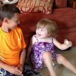 8yo donates winnings to sick toddler-familyphoto