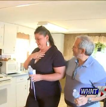 Alabama woman gets renovated home