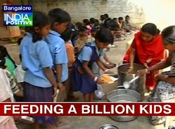 Feeding in billion meals  Akshaya Patra-IBNvid