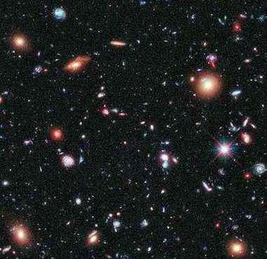 Hubble Galaxies-Deep Space