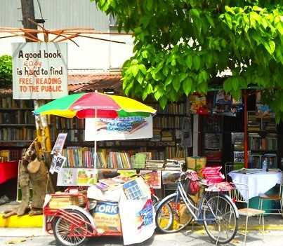 Library outdoors in Philipines-BBCphoto