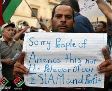 Libyans Rally Pro-US CBSvideo