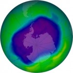 Ozone hole 2008-NASA