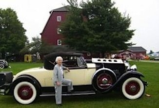 Packard 1930-Margaret Dunning-at 102