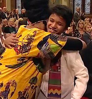 Phillipine Kesz Valdez-Child Peace Prize winner