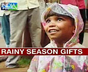 Raincoats for monsoon kids