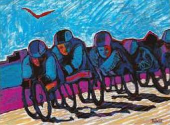 Wheelchair racers by Robert Thome - mfpausa.com