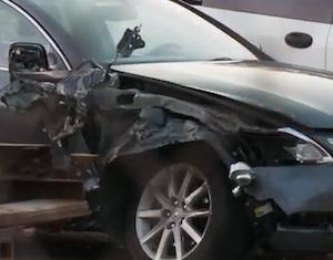 car crashed - Fox Video screenshot
