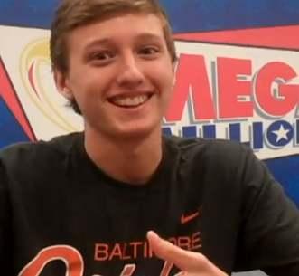 Nick Ruth lottery winner, MD Mega-Millions