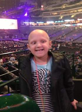 Bieber concert for sick girl - FB photo