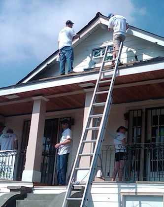Home rehabilitation-Rebuilding Together