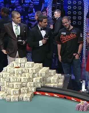 Poker winner Greg Merson-ESPNvid