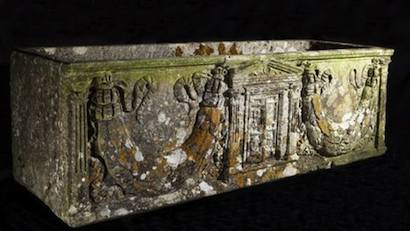 Roman coffin found and sold at auction in England