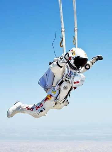 Skydiving daredevil Felix Baumgartner